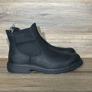 UGG Men's Biltmore Chelsea Black Leather Boots